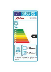 Abbildung 6: Beispiel Energieeffizienz Gasherd mit Elektrobackofen